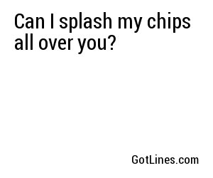 Poker Pick Up Lines