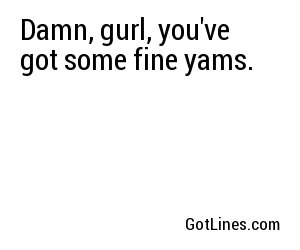 Thanksgiving Pick Up lines