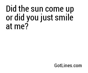 笑顔のためのラインを拾う