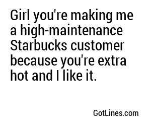 Coffee Pick Up Lines