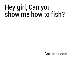 Pick Up Lines by Interest - Part 3