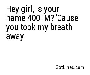 Beach Pick Up Lines - Part 2