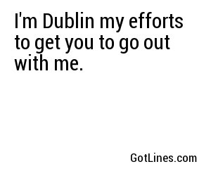 St. Patrick's Day Pick Up Lines