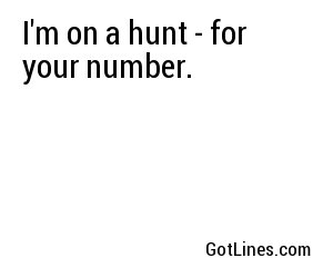 Easter Pick Up Lines