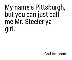 Football Pick Up Lines
