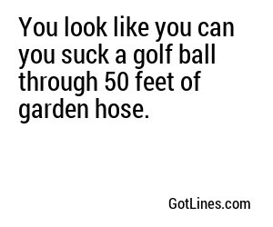 Sports Pick Up Lines - Part 6
